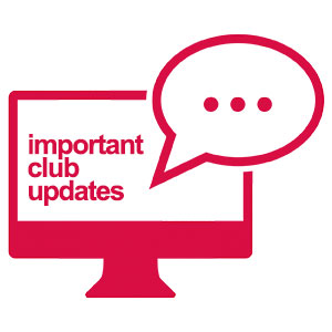 Important Club Updates